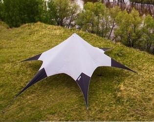 Тент шатер 75 кв.м