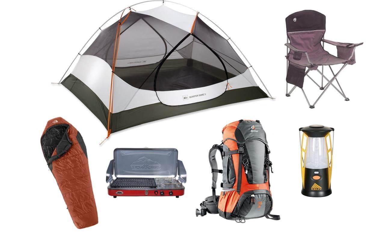 Аренда палаток спальных мешков и прочего снаряжения для кемпинга и похода.